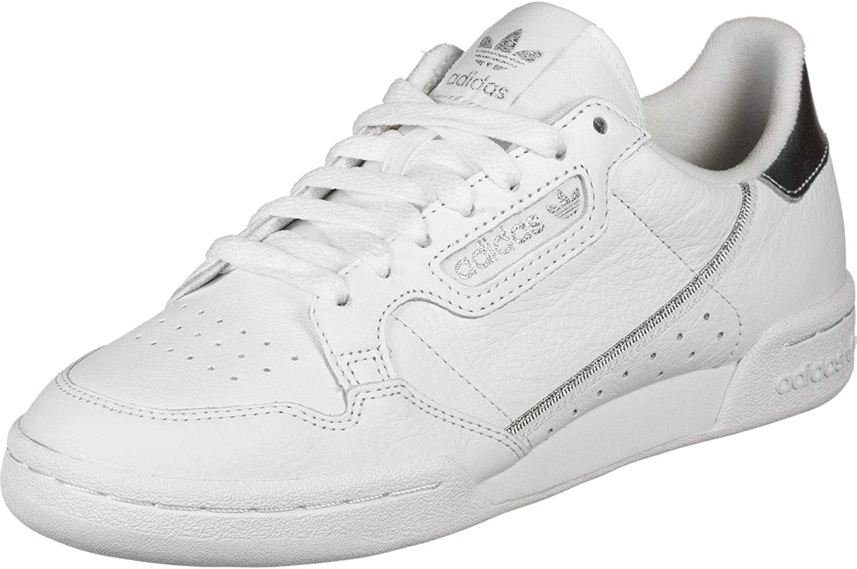 adidas Damen Continental 80 Sneaker, Weiß, 41 EU
