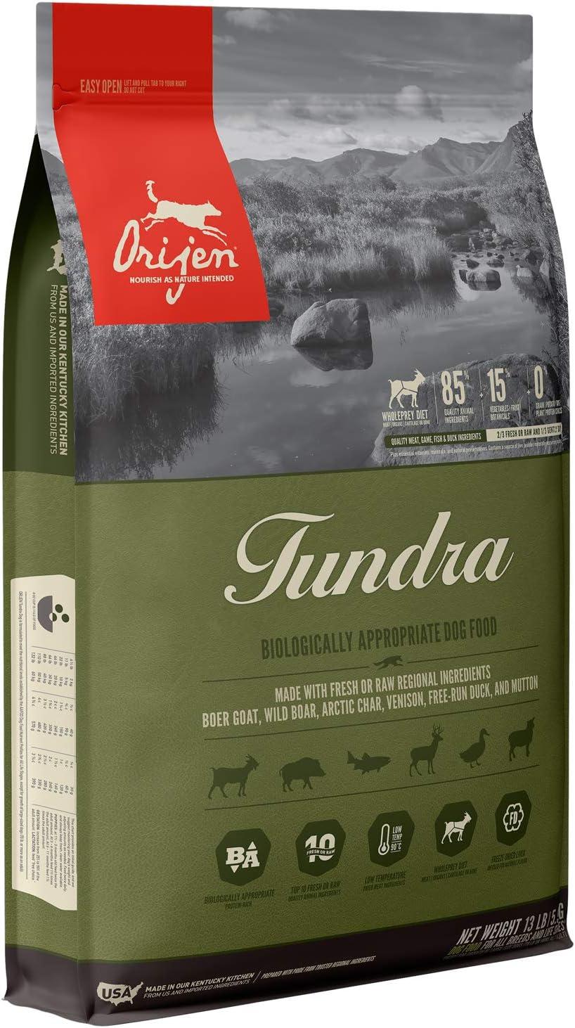 ORIJEN Dry Dog Food, Tundra, Biologically Appropriate & Grain Free