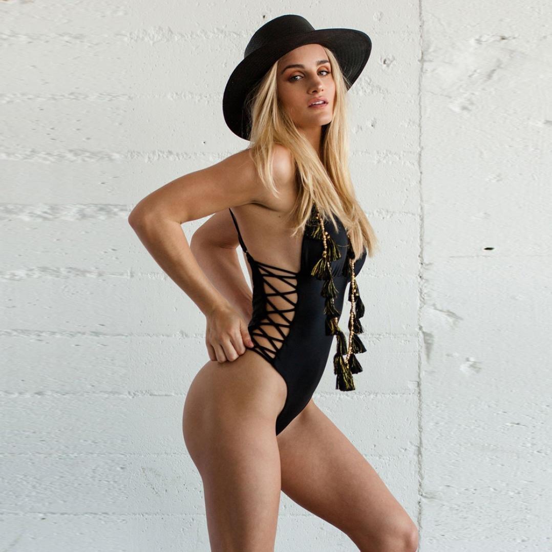 80d7cab336731 Amazon.com : ♥2018 Women Swimsuit♥, Sunfei Women's Swimwear One Piece  Swimsuit Push Up Bandage Bikini Bathing Suit (L, Hot Pink) : Garden &  Outdoor