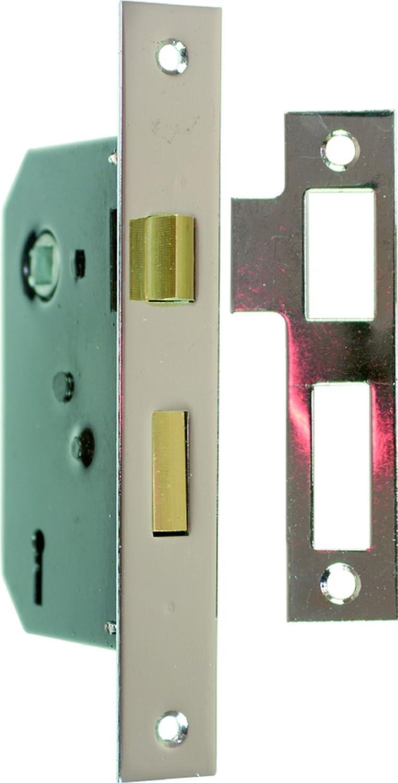 Specialist S1475 - Cerradura empotrable (3 puntos, acabado cincado): Amazon.es: Bricolaje y herramientas