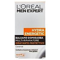 L'Oréal Paris Men Hydra Energetic 24H - Balsamo dopo-barba Idratante Protettivo- 100 ml