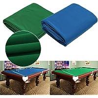Tela de billar,Mesa de Billar de Fieltro de Mesa de Billar,Resistente a los desgarros Durable Snooker y Paño de Piscina…