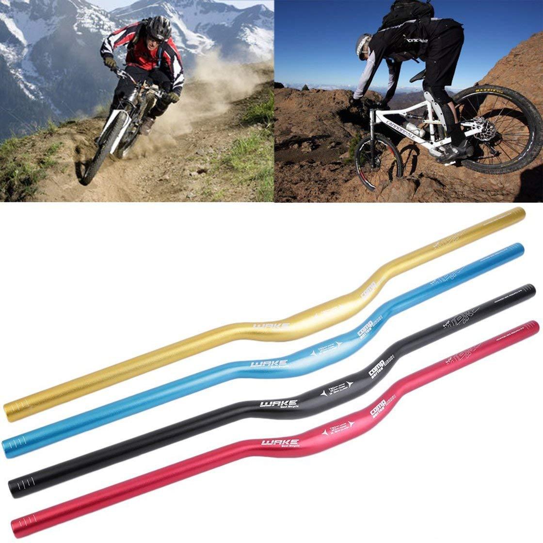 Laurelmartina Universal 780 mm MTB Bicicleta de monta/ña Bicicleta aleaci/ón de Aluminio Riser pr/ácticos manillares Tubos de manija de Repuesto