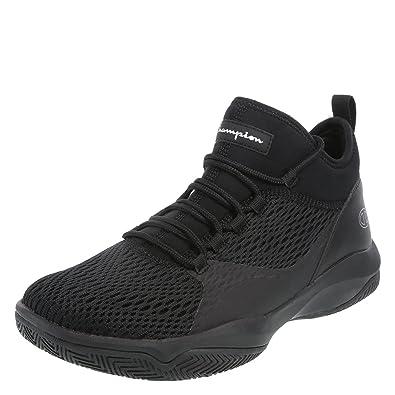 397a10009e958 Champion Black Men s Clutch Slip-On Basketball Shoe 6 Regular