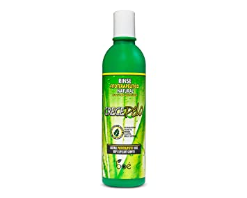 CrecePelo Natural Conditioner Rinse, 12.5oz. Per Bottle