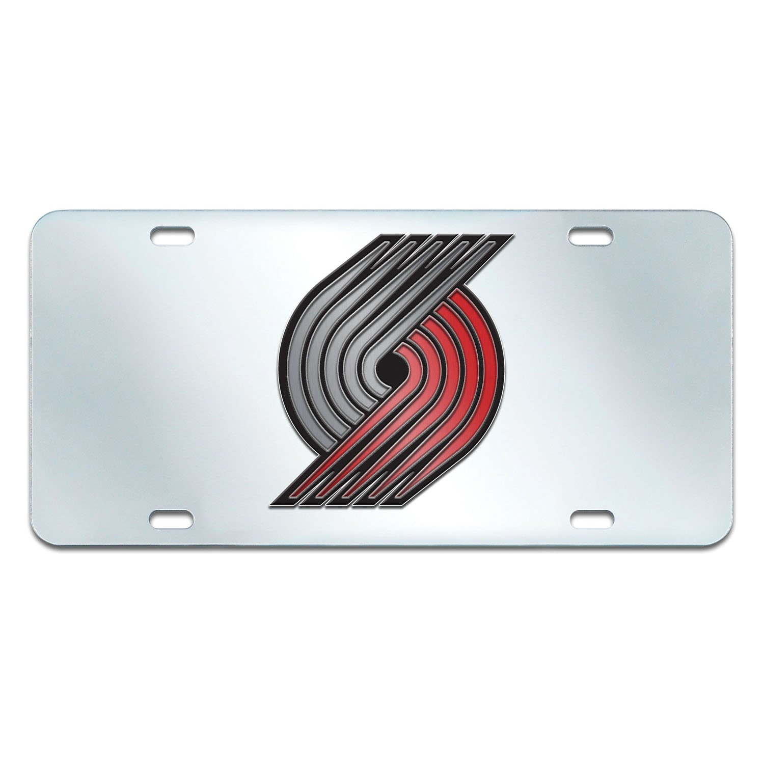 Fanmats NBA Portland Trail Blazers License Plate-Inlaid 6x12