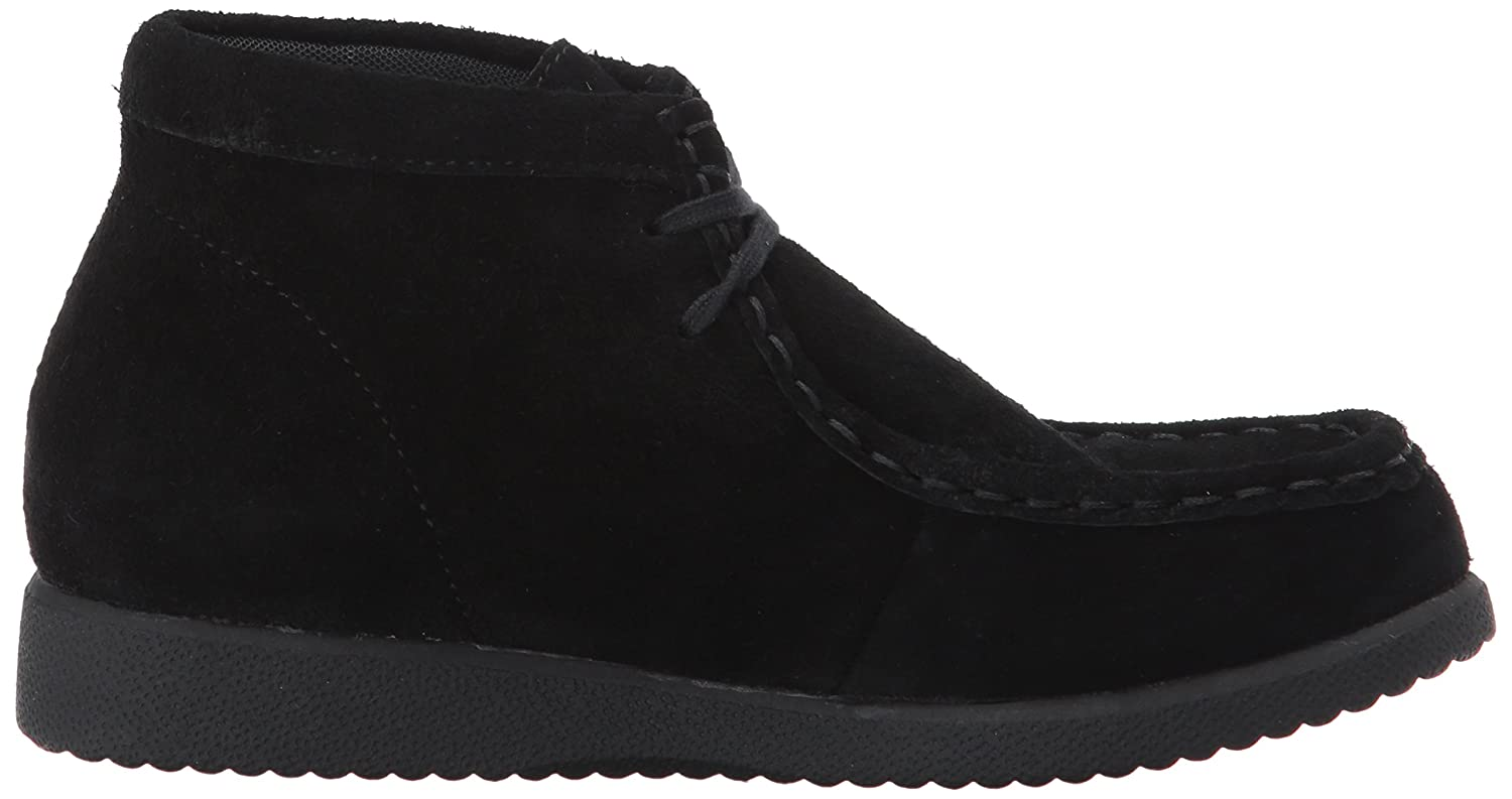Hush Hush Hush Puppies Unisex-Kids Bridgeport III Chukka Stiefel, schwarz, 6 Medium US Big Kid ce3bad
