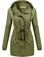 Amazon.com: Hotouch Womens Lightweight Travel Trench