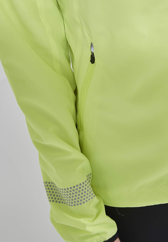 Endurance Damen Laufjacke Cully XQL mit extra gro/ßen reflektierenden Elementen
