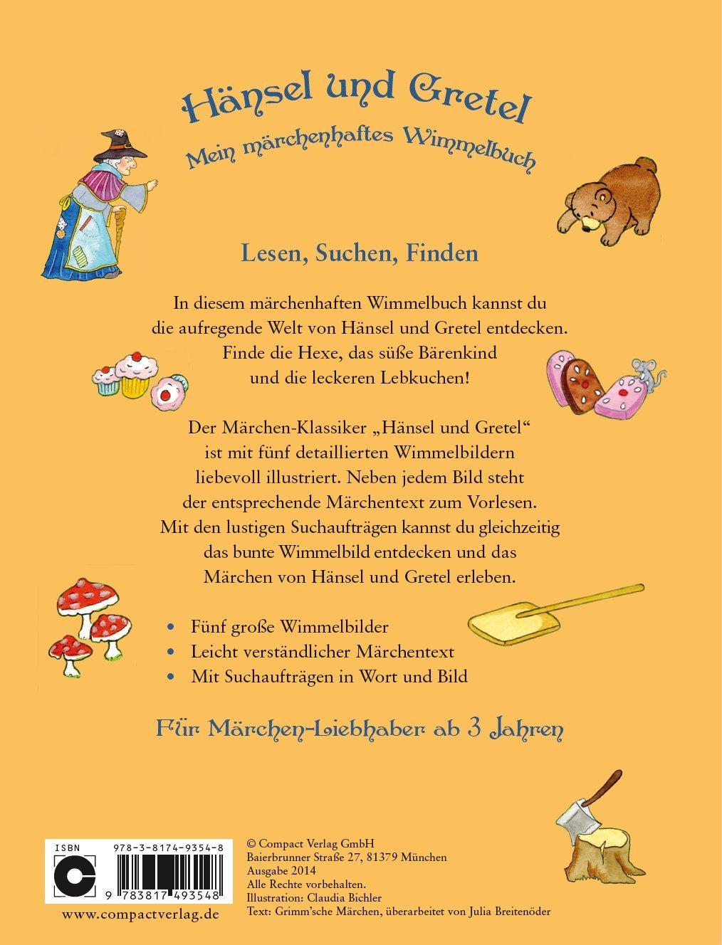 Lieblings Hänsel und Gretel - Mein märchenhaftes Wimmelbuch: Wimmelbuch #PS_97