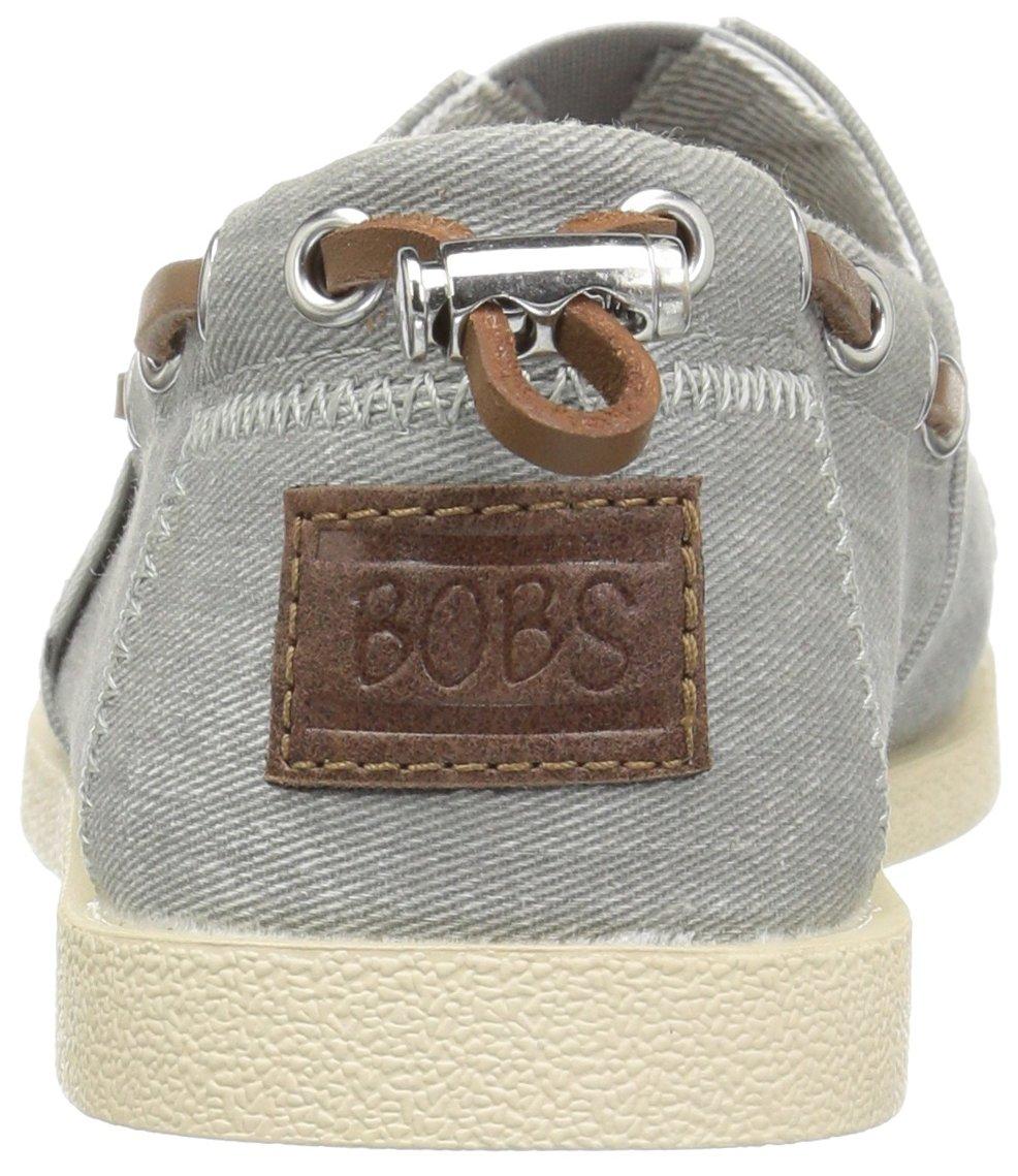 Skechers BOBS from Women's Chill Luxe Flat B01J8N1I2I 8.5 B(M) US|Gray