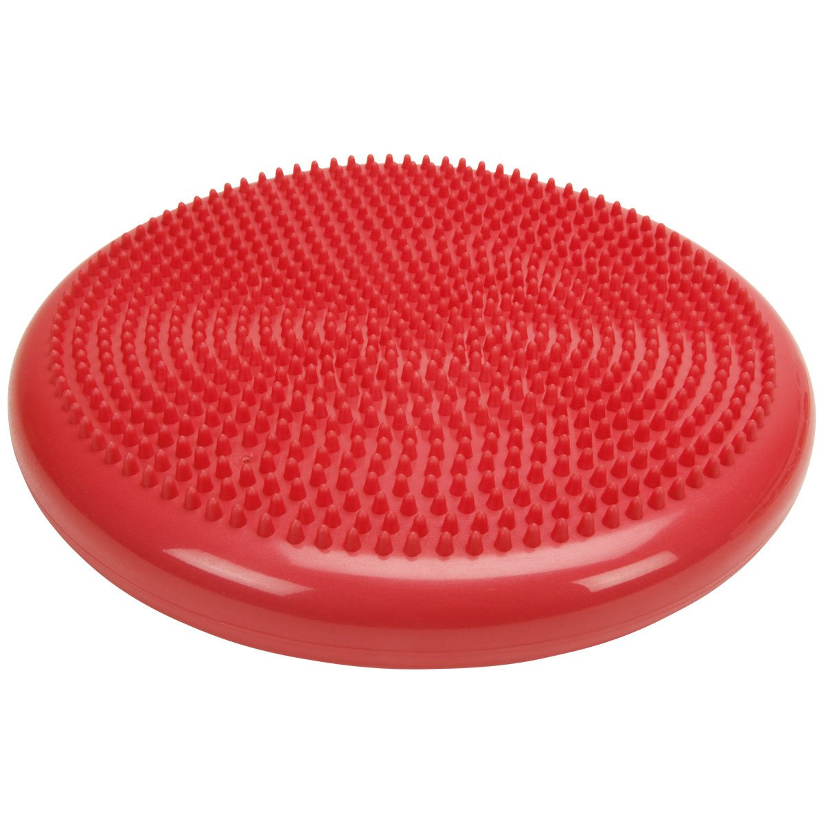 Cando 30-1870R Red Inflatable Vestibular Disc, 13-51/64 Diameter, 300 lbs Weight Capacity 13-51/64 Diameter W54265R