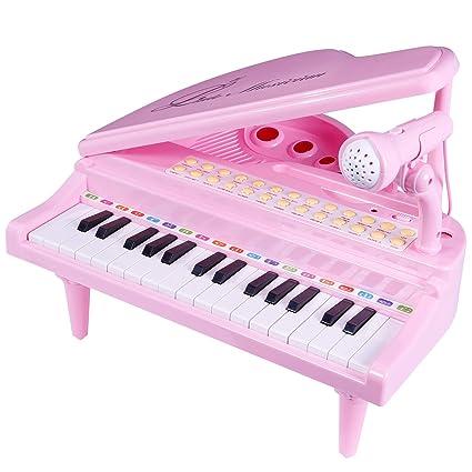 Amazon.com: ANTAPRCIS Piano Juguetes para Niños, Teclado ...