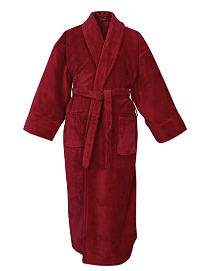 93788ea373 Image Unavailable. Image not available for. Color  BC BARE COTTON 100%  Turkish Cotton Men Terry Velour Shawl Robe ...
