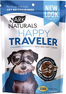 product image for Ark Naturals Happy Traveler, Natural Calming Treats for Dogs & Cats, Reduces Anxious & Nervous Behavior