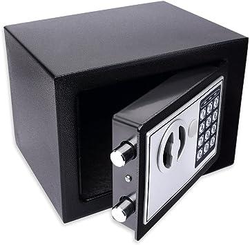 Schramm® Caja Fuerte electrónica 23x17x17cm Caja Fuerte de Muebles ...