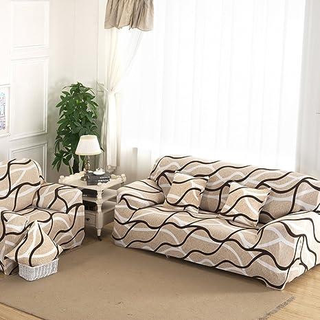 Fundas de sofá 3 plazas funda para sofá elástica elástico mascota perro sofá pantalla Tejido de poliéster suave sofá cubierta floral print Funda ...