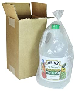 Heinz Distilled White Vinegar, 128 oz, Poly Bagged & Boxed