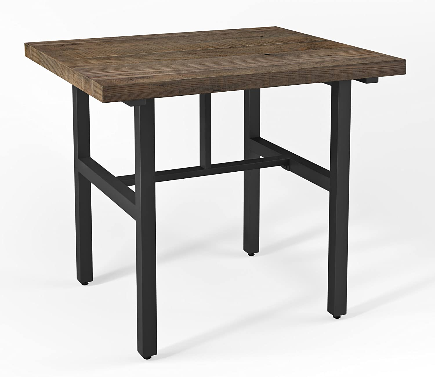"""Sonoma 36"""" H Reclaimed Wood Counter Height Dining Table, Natural"""