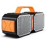 Bluetooth Speakers, Waterproof Outdoor Speakers Bluetooth 5.0?40W Wireless Stereo Pairing Booming Bass Speaker,2400…