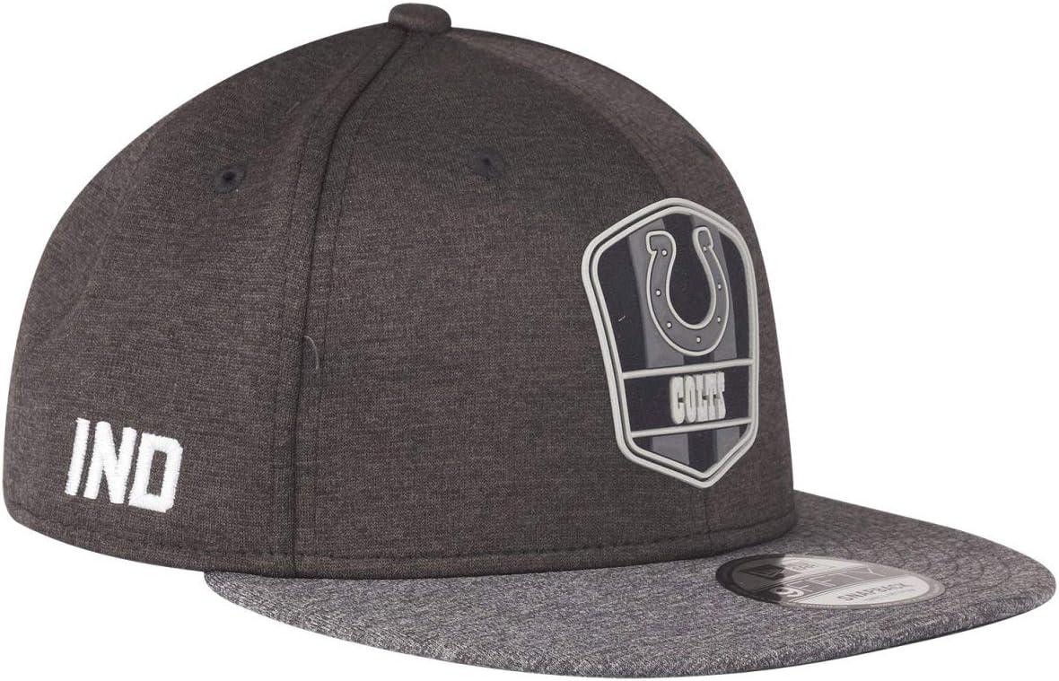 Black Sideline Indianapolis Colts New Era Snapback Cap