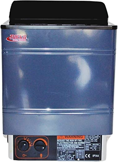 TURKU TU45WD-I 4.5KW 240V Residential FIRMER Body Structure Wet or Dry Electric Sauna SPA Heater Stove