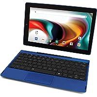 """RCA Tablet de mejor rendimiento Quad-Core 2 GB RAM 32 GB de almacenamiento IPS HD pantalla táctil WiFi Bluetooth con teclado desmontable Android 9 Pie (10"""", carbón)"""
