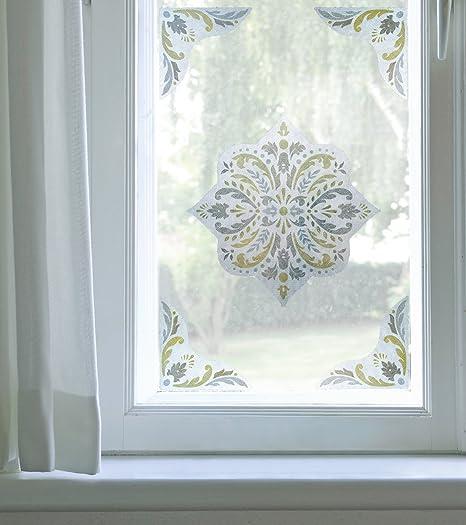 Artscape Newport Amber Window Film Accent