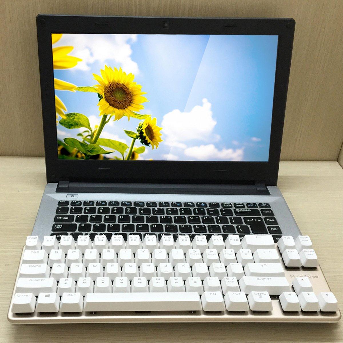 mechanical keyboard wired keyboard blue switch 68 keys mini design 60 gaming 696397872469 ebay. Black Bedroom Furniture Sets. Home Design Ideas