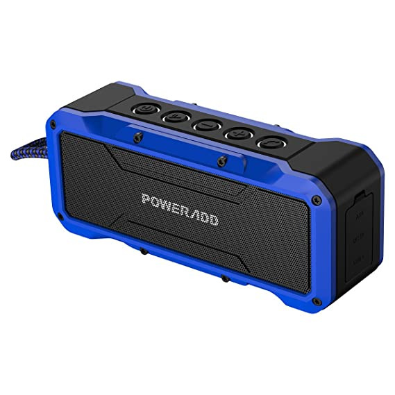 0ed2cd9c587f4c Poweradd MusicFly Indoor/Outdoor Portable Wireless Bluetooth Speakers, 36W  Loud Volume, Dynamic Stereo