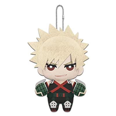 "Little Buddy 1696 My Hero Academia 6"" Katsuki Bakugo Plush Dangler, Multicolor: Toys & Games"
