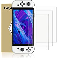[3 Pack] Screen Protector Tempered Glass Film for Nintendo Switch OLED Model, MENEEA Clear Transparent HD Dockable Anti…
