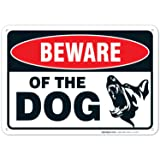 Beware of Dog Sign Made with 0.40 Aluminum. Dog
