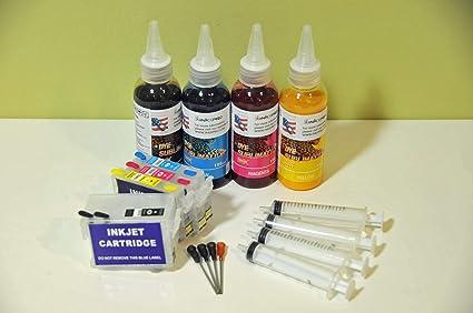 Amazon.com: INKXPRO T252XL - Kit de cartucho recargable de ...
