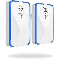 Deepmart® DM45 | Repellente ad Ultrasuoni per Topi - Scacciatopi Ultrasuoni - Repellente Antizanzare - Dissuasore per Topi Zanzare ed Insetti [Pacco da 2]