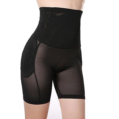 98c9d5d0c7 TOPMELON Women s Shapewear Butt Lifter Padded Panty Body Shaper Black