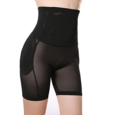 e66dec4a92f7a TOPMELON Women s Shapewear Butt Lifter Padded Panty Body Shaper at Amazon Women s  Clothing store
