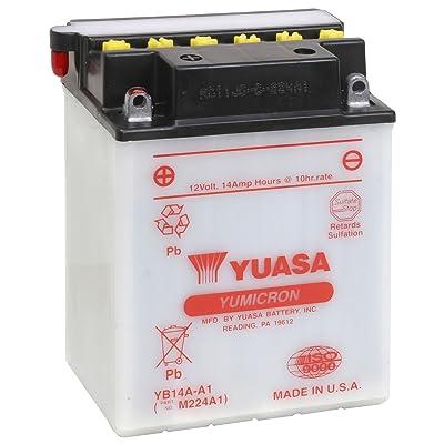 Yuasa YUAM224A1 YB14A-A1 Battery: Automotive