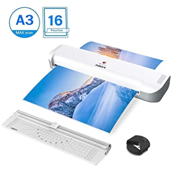 A4 Laminating Machine 10 Pouch 140 Micron Laminate Home Office School Project