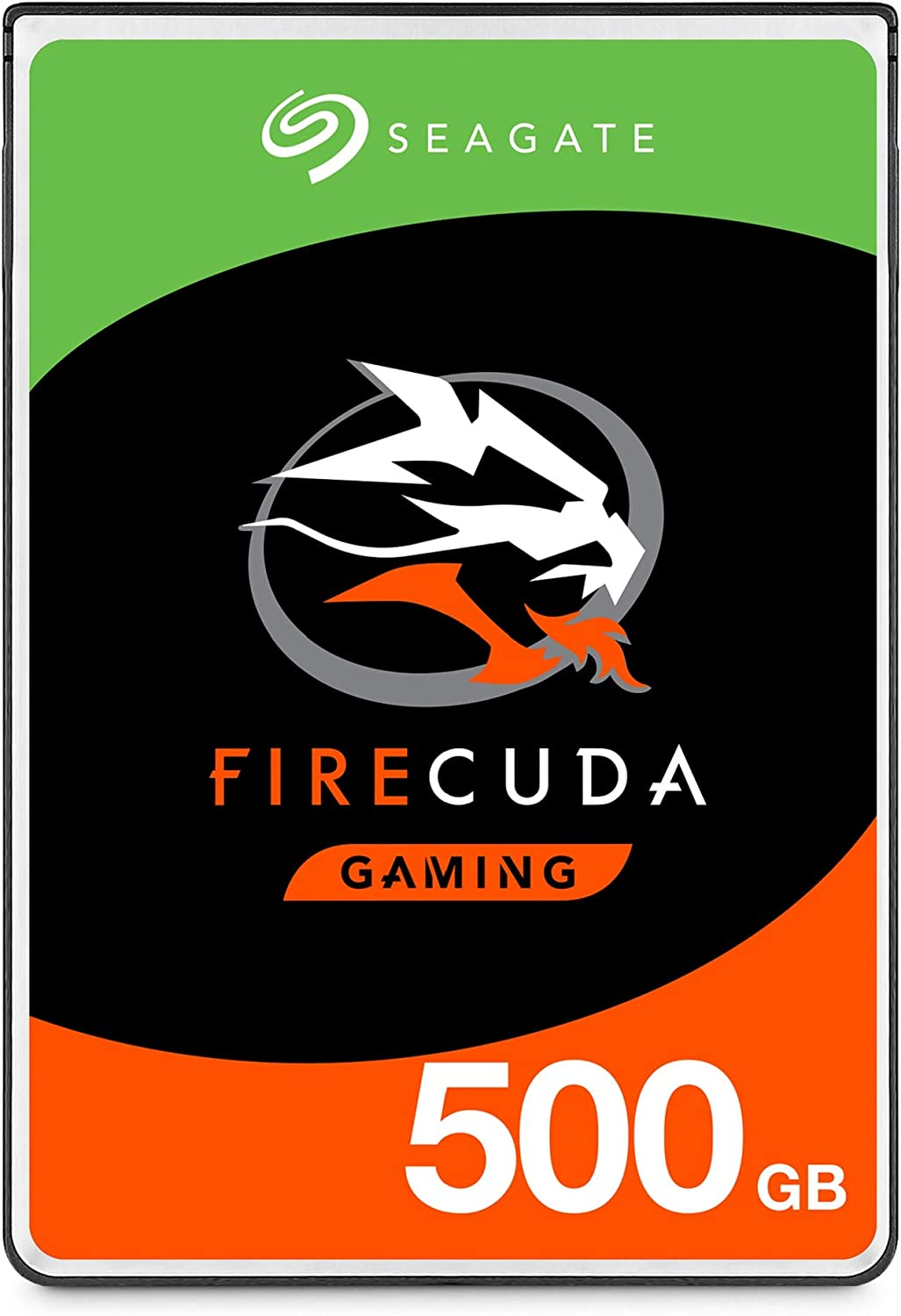 Seagate FireCuda 500GB Solid State Hybrid Drive Performance SSHD – 2.5 Inch SATA 6Gb/s Flash Accelerated for Gaming PC Laptop
