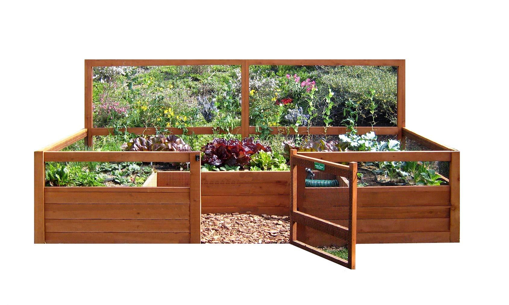 Just Add Lumber Vegetable Garden Kit - 6'x12' Deluxe