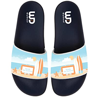 Ready For Summer Non-slip Slide Sandals Home Shoes Beach Swim Flip Flops Indoor and Outdoor Slipper Women Men