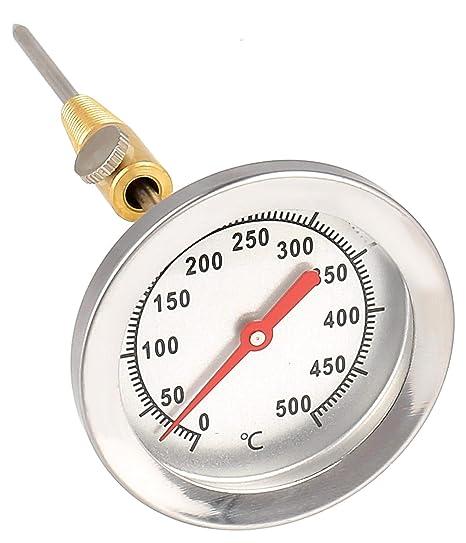 Compra Termómetro analógico bimetálico 500 °C - para horno ...