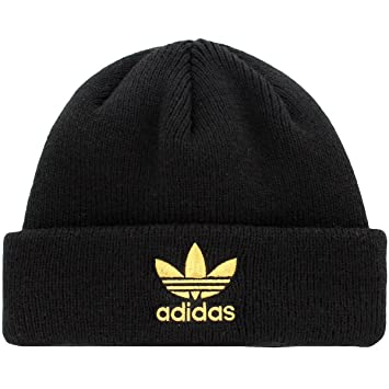 Amazon.com  Adidas Men s Originals Trefoil II Knit Beanie 9fc9a5f6b3c