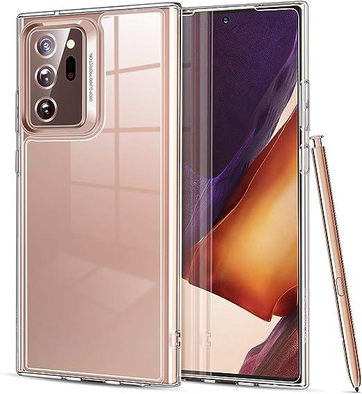 Esr Hybrid Hülle Für Das Samsung Galaxy Note 20 Ultra Stoßresistent Dünn Transparent Original Klar Elektronik