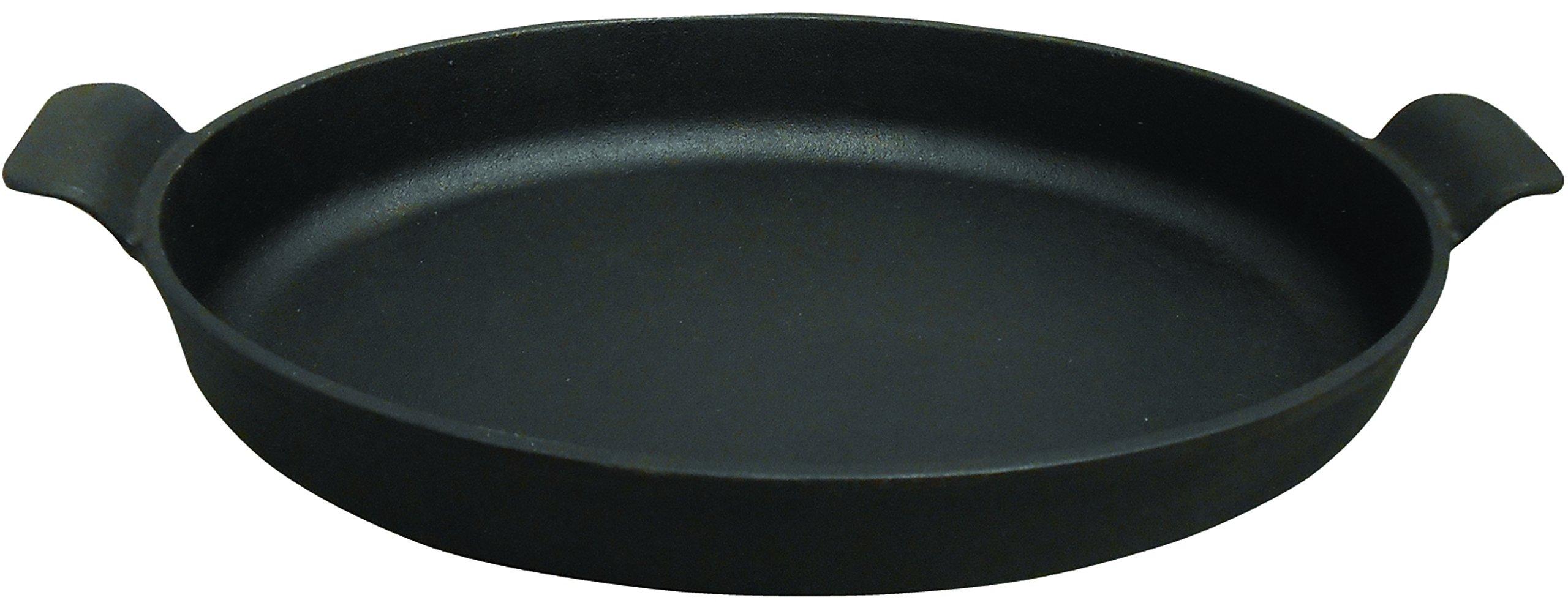 King Kooker CIOR14S Pre-Seasoned Cast Iron Oval Roasting Pan