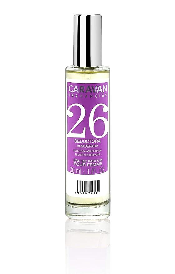 Caravan Fragancias Nº 26 Estuche de Regalo para Mujer Eau de Parfum Fragancia Floral y Amaderada (1 x 150 ml. + 1 x 30 ml.): Amazon.es: Belleza