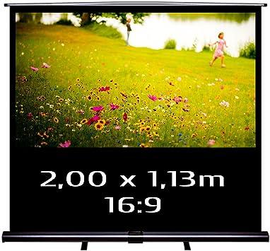 KIMEX 045 1014 Ecran de Projection Portable Pull Up 2,00 x 1