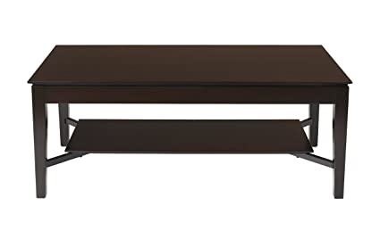 New Classic Adrian Lift Top Cocktail Table, Espresso