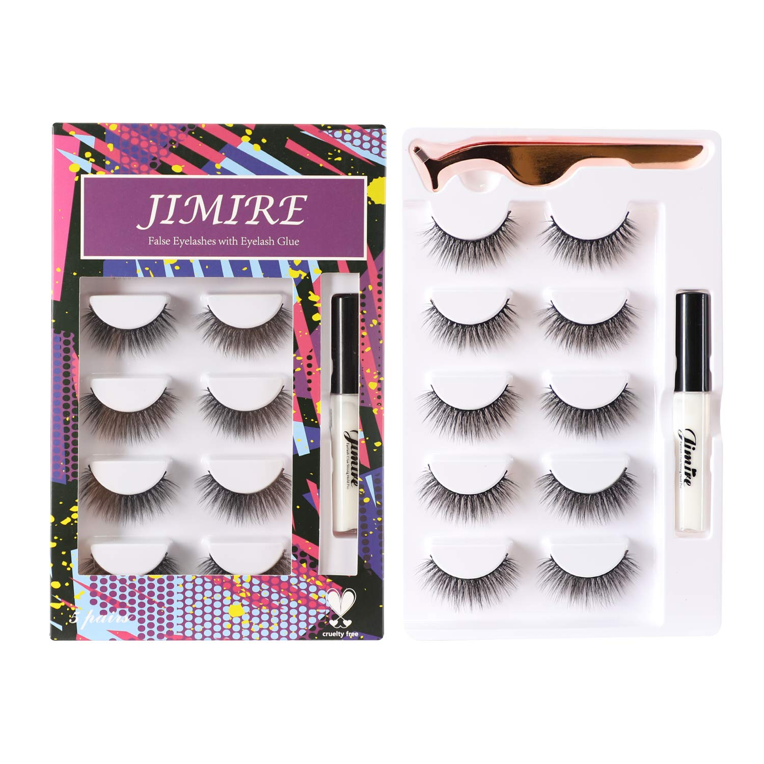 Best false lashes for Asian eyes